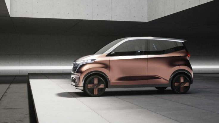 Nissan IMk koncepció oldalról – látványterv