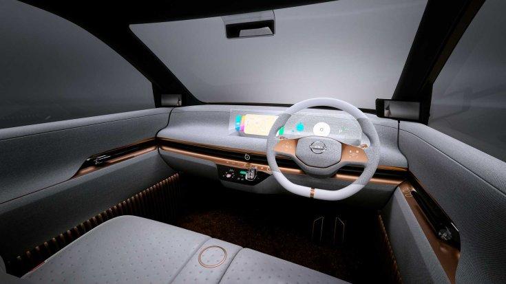 Nissan IMk koncepció utastere – látványterv