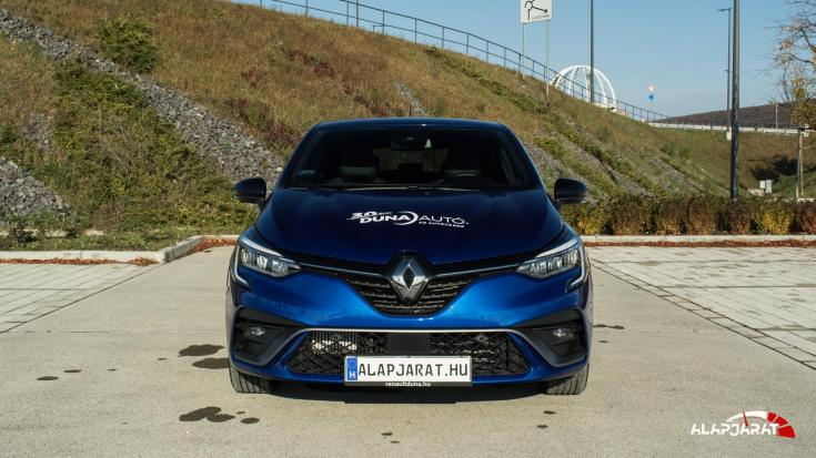Renault Clio teszt Alapjárat