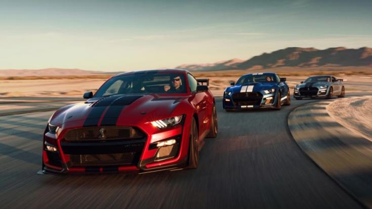 2020 Ford Shelby Mustang GT500 elölről