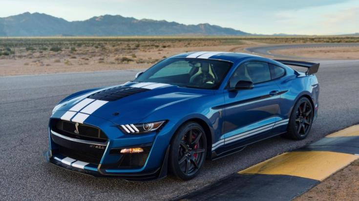 2020 Ford Shelby Mustang GT500 oldalról