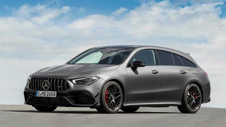 2020-as Mercedes-AMG CLA 45 Shooting Brake elölről
