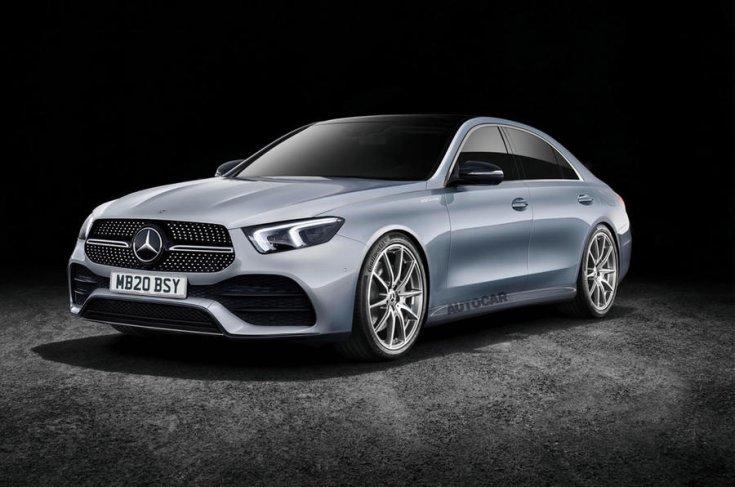 2020-as Mercedes C-osztály látványterv elölről