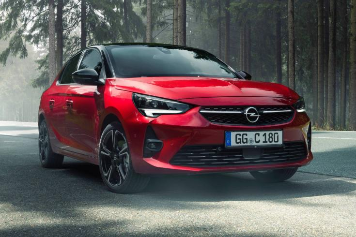 2020-as Opel Corsa elölről
