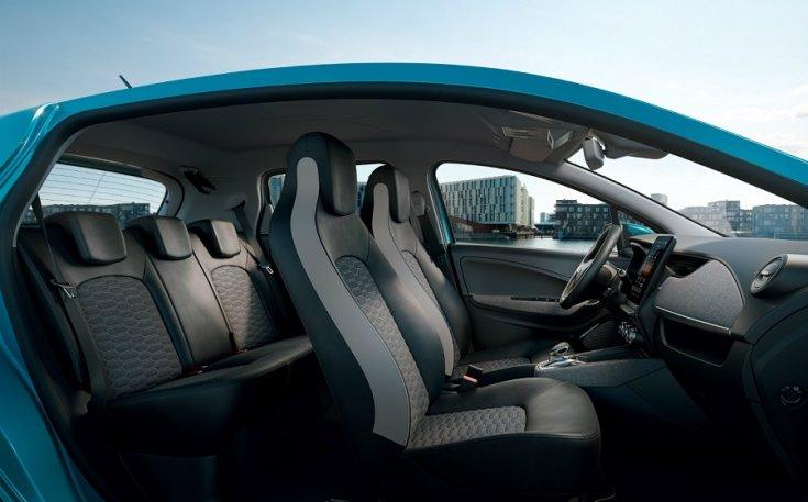 Renault Zoe 2020 utastere