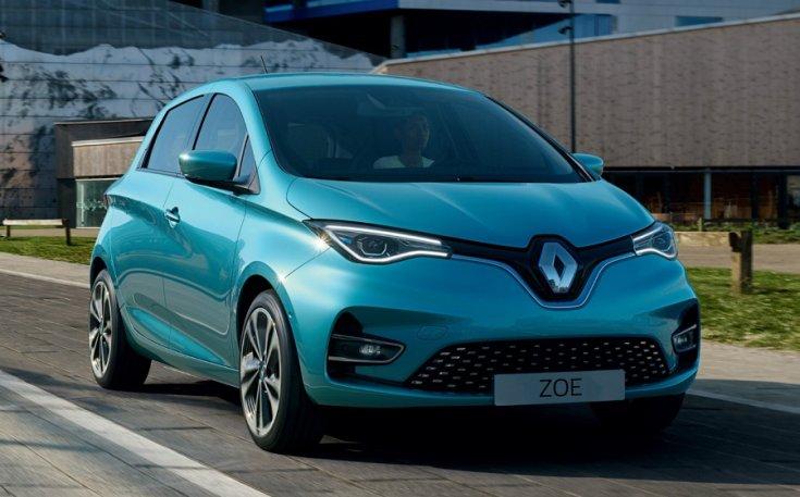 második generációs Renault Zoe