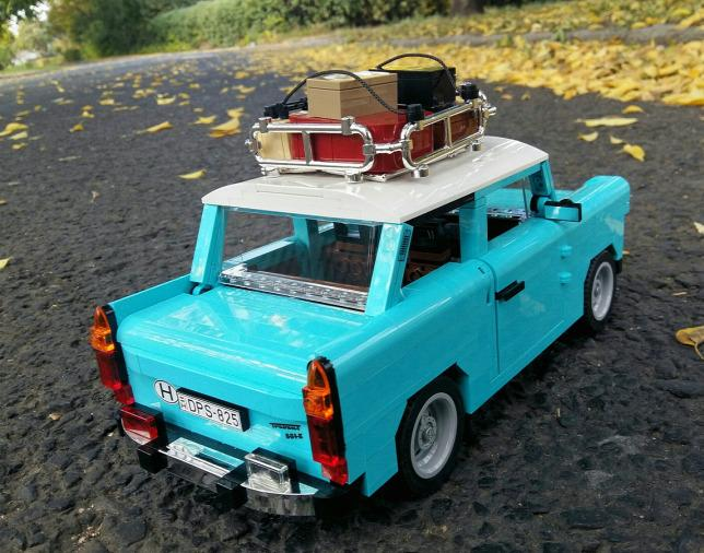 LEGO Trabant hátulról