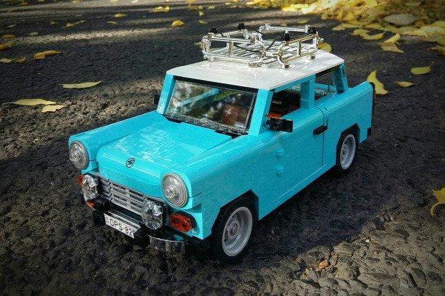 LEGO Trabant szemből