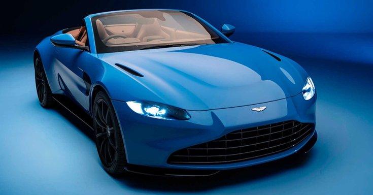 Az Aston Martin Vantage Roadster tető nélkül