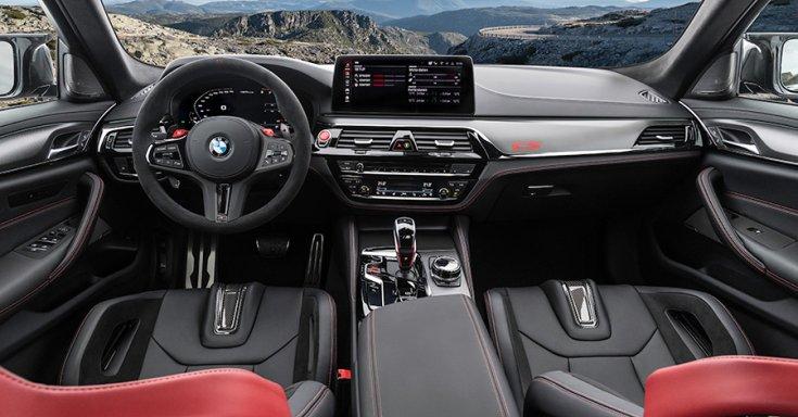 BMW M5 CS utastere