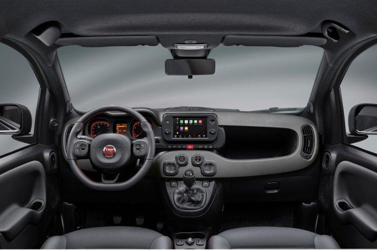 2021-es Fiat Panda belső tere