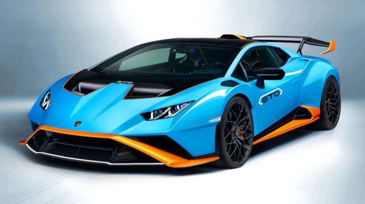 Lamborghini Huracan STO szemből