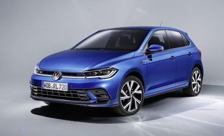 2021-es VW Polo elölről
