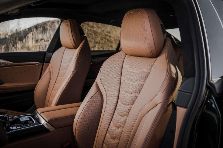 BMW Alpina B8 Gran Coupé utastere