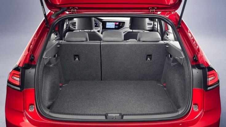 A Volkswagen Taigo csomagtere