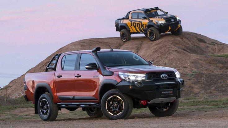 Toyota Hilux és Tundra terepkörülmények között