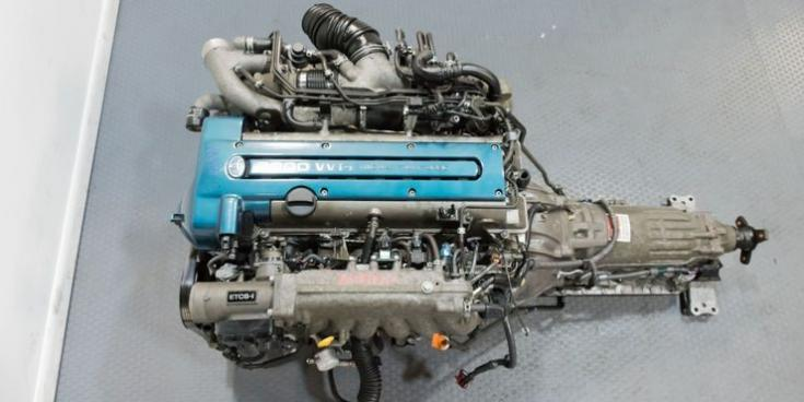 2JZ-GTE motor és váltója