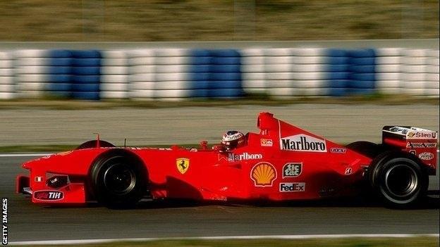 Schumacher és a Ferrari
