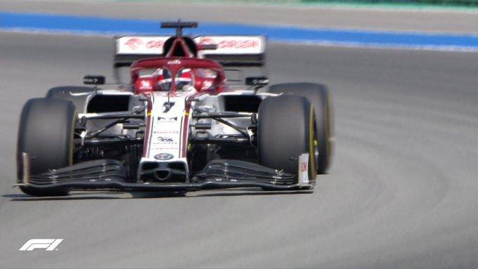 A 37. kör befejezésével Kimi Räikkönen rekordot döntött – ő tette meg a legtöbb kilométernyi versenytávot a Forma-1-ben