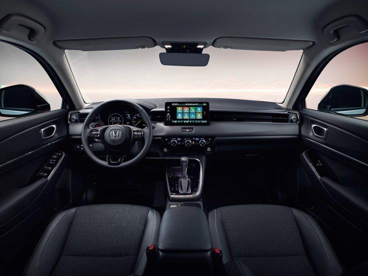 A Honda HR-V utastere