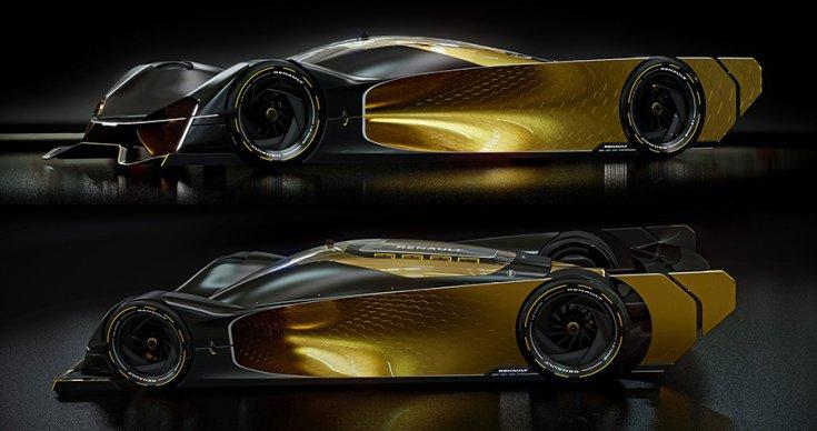 Renault Le Mans hiperautó két szögből