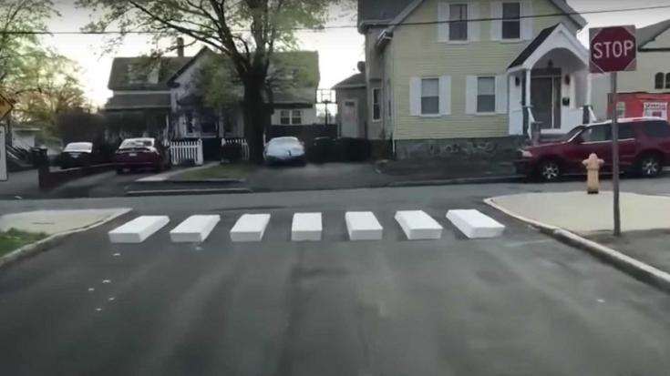 háromdimenziós kereszteződés Massachusettsben