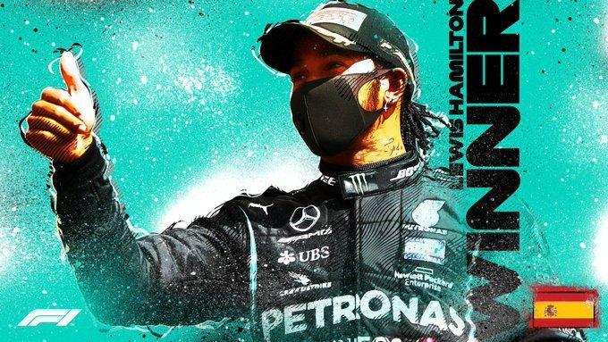 Hamilton ötödik alkalommal nyerte meg a Spanyol Nagydíjat