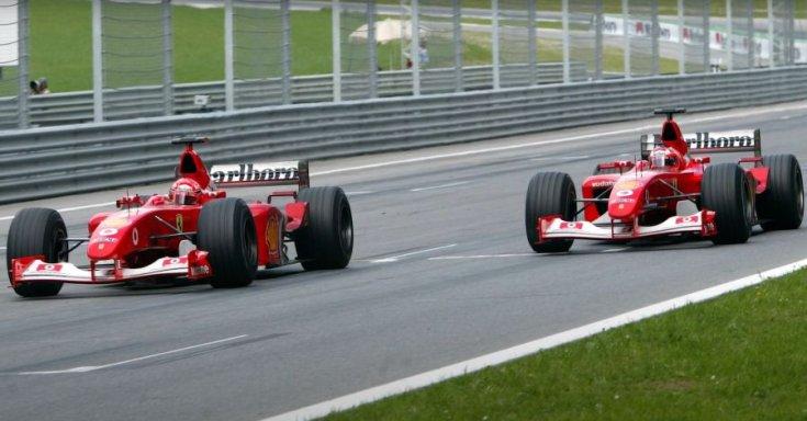 Schumacher és Barichello
