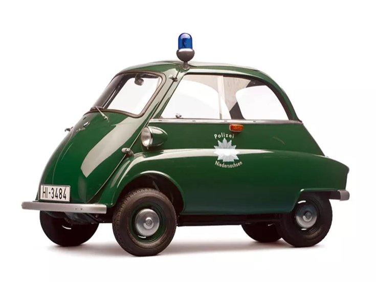 BMW Isetta rendőrautó
