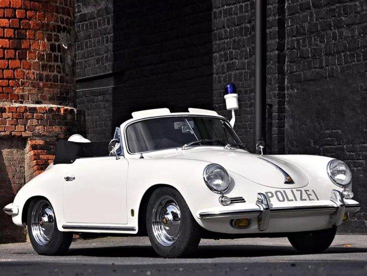 Porsche 356 rendőrautó