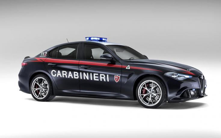 Alfa Romeo Quadrifoglio oldalról