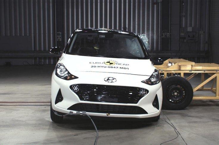Hyundai i10 2020 Euro NCAP