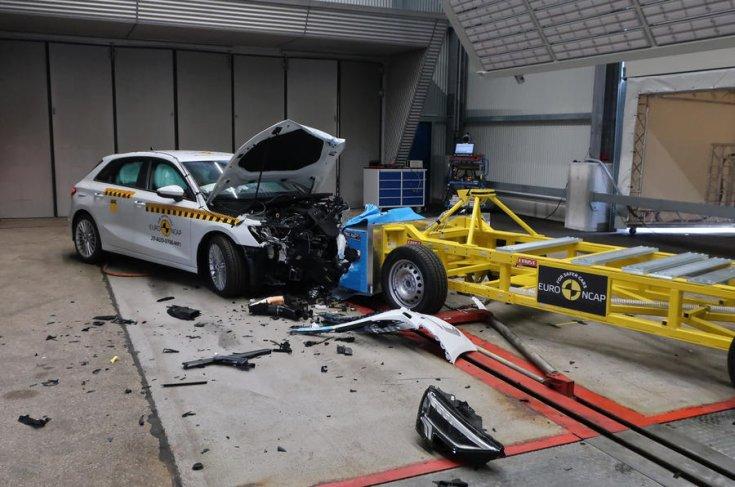 Audi A3 Euro NCAP teszt