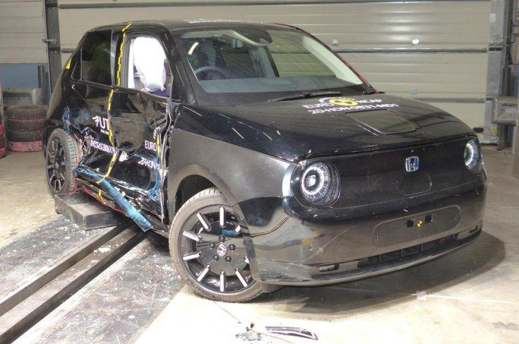 Honda e 2020 Euro NCAP