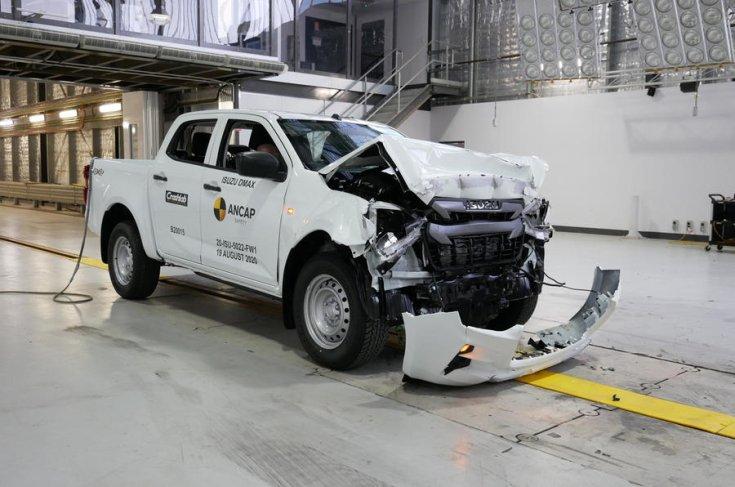 Isuzu D-Max 2020 Euro NCAP