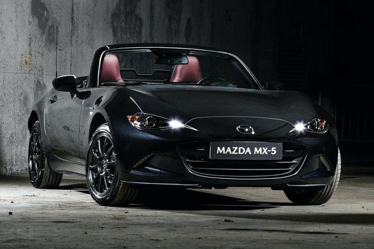 A limitált kiadású Mazda MX-5 Eunos Edition elölről
