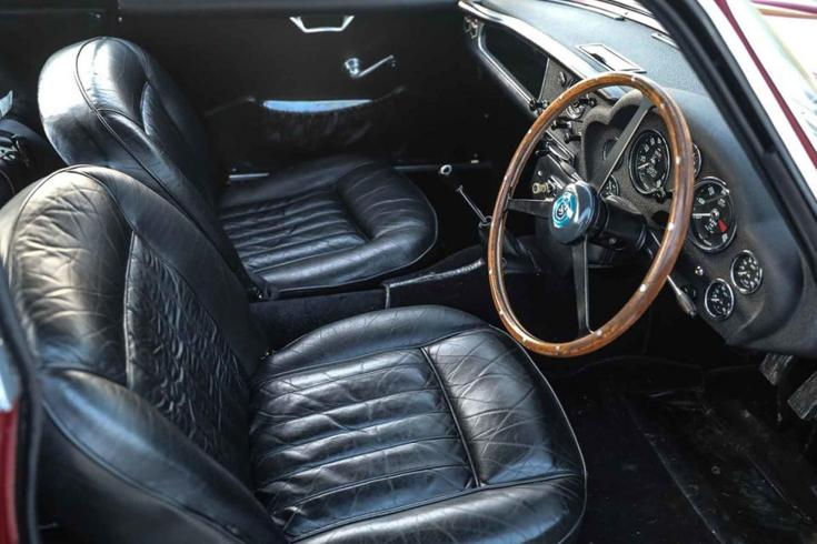 Aston Martin DB4 GT Zagato kormánya