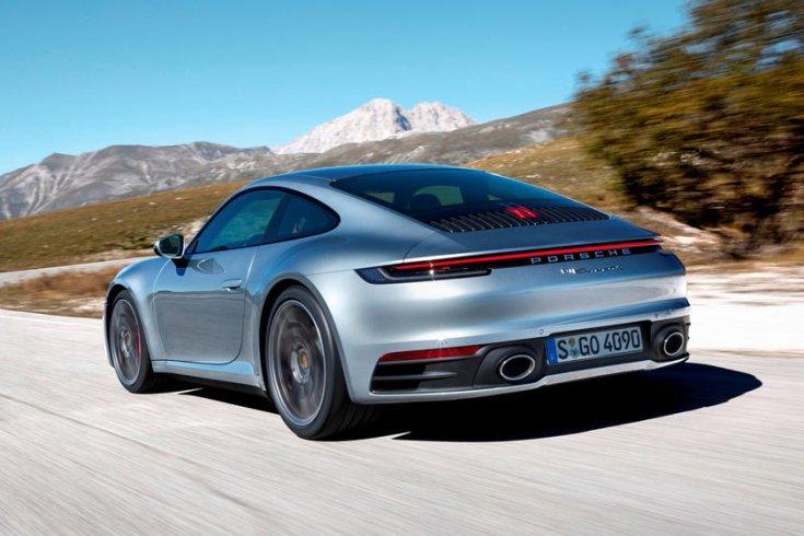Porsche 911 hátulról