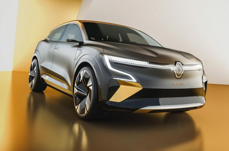 Renault Megane eVision elölről
