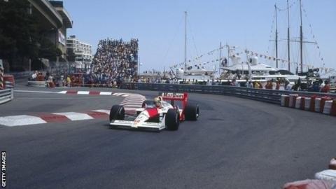 Ayrton Senna időmérős köre (Monaco, 1988)
