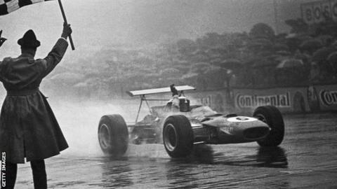 Sir Jackie Stewart csodálatos esős versenye (Német Nagydíj, 1968)