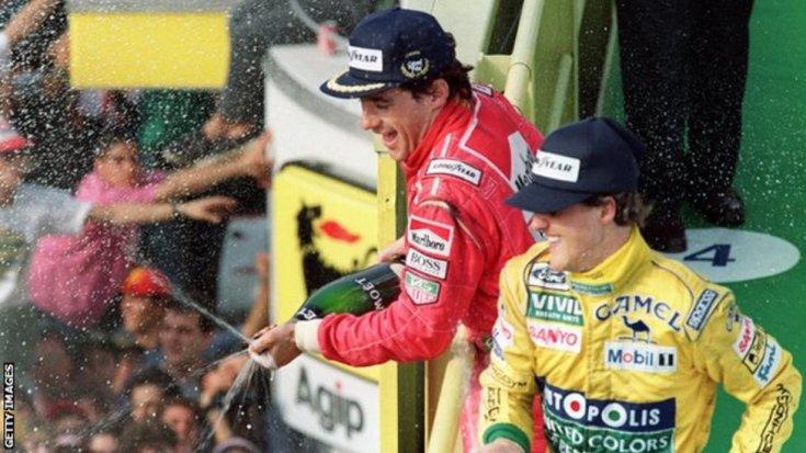 Senna és Schumacher