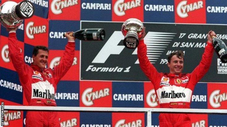 Schumacher és Irvine