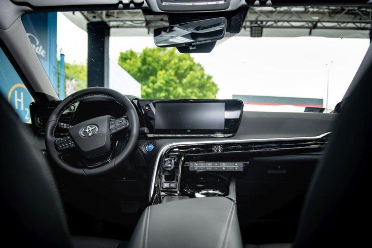 Toyota Mirai utastér