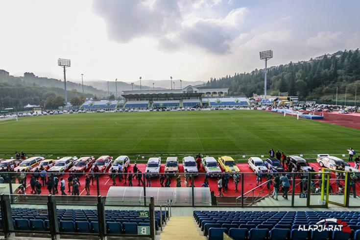 A San Marino-i stadionban a mezőny