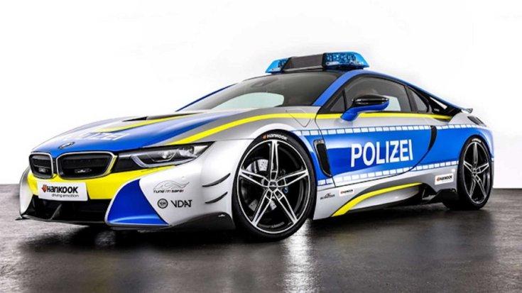 BMW i8 AC Schnitzer rendőrautó
