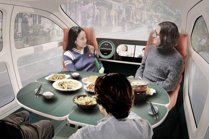 IM Motors Airo étkezővé alakított utastérrel