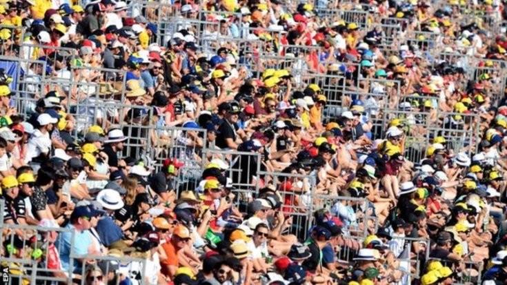 nézők Ausztráliában