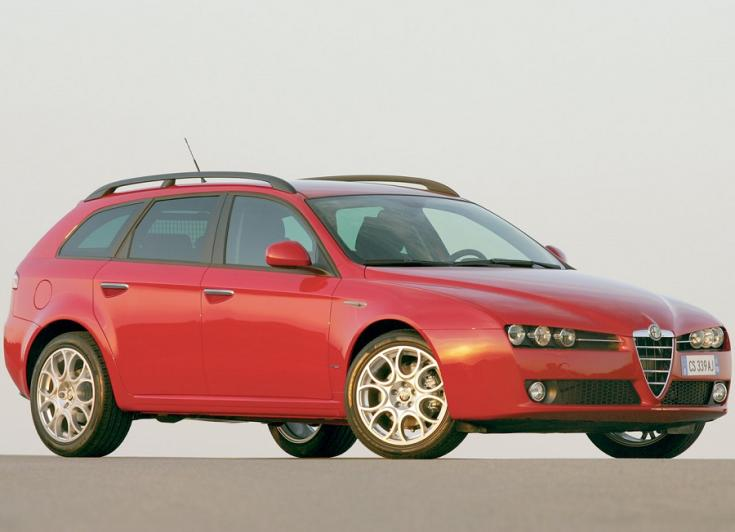 Alfa Romeo 159 Sportwagon kombi 2006