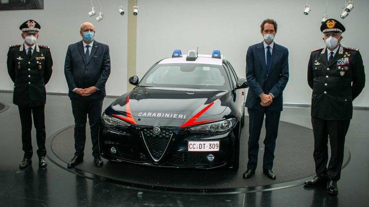 Golyóálló Alfa Romeo Giulia